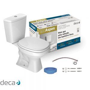 Kit Completo Deca Vaso Acoplado Aspen (KP.750.17)