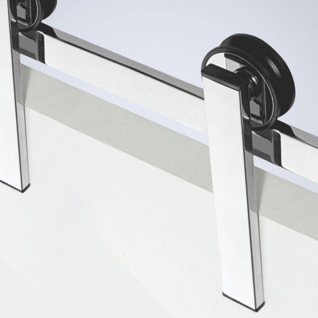 Kit P/ Porta de Correr Smart Inox 304