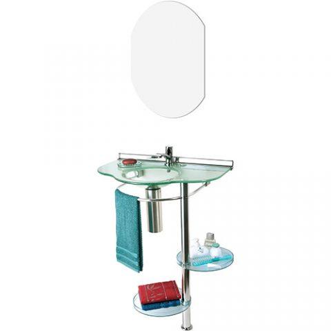 Lavabo Cris-Metal Topazio com Espelho