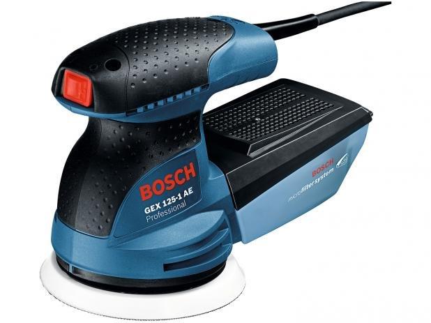 Lixadeira Excêntrica GEX 125-1 AE 250W 127V – Bosch