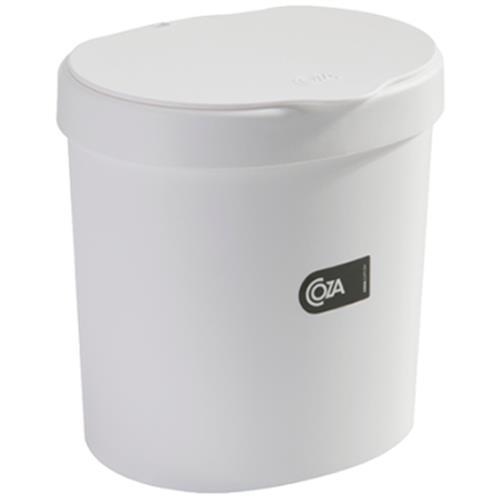 Lixeira Coza 2,5L Branco