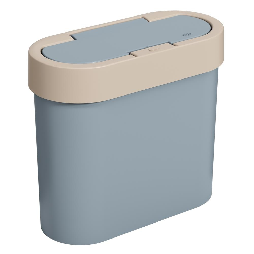 Lixeira Coza Automática 2,8L Flat Azul Fog