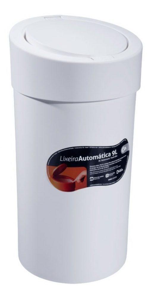 Lixeira Coza Press 9,0L Branco