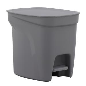 Lixeira Tramontina Compact 7L Cinza