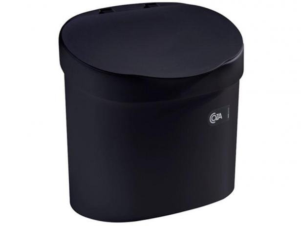 Lixeira para Pia Coza 4,0L Preto