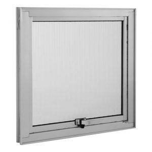 Maxim-Ar Branco 1F Vidro Boreal 40×40 cm