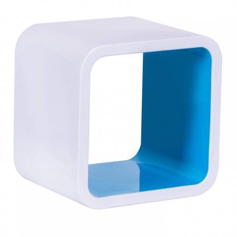 Nicho Quadrado Plástico Astra 26cm Azul