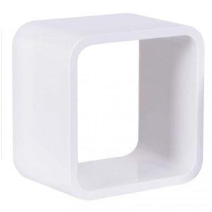 Nicho Quadrado Plástico Astra 26cm Branco