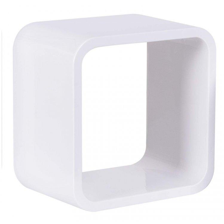 Nicho Quadrado Plástico Astra 31cm Branco