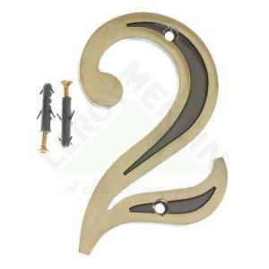 Número Residencial 13cm – nº 2