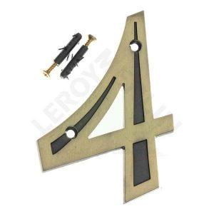 Número Residencial 13cm – nº 4