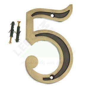 Número Residencial 13cm – nº 5