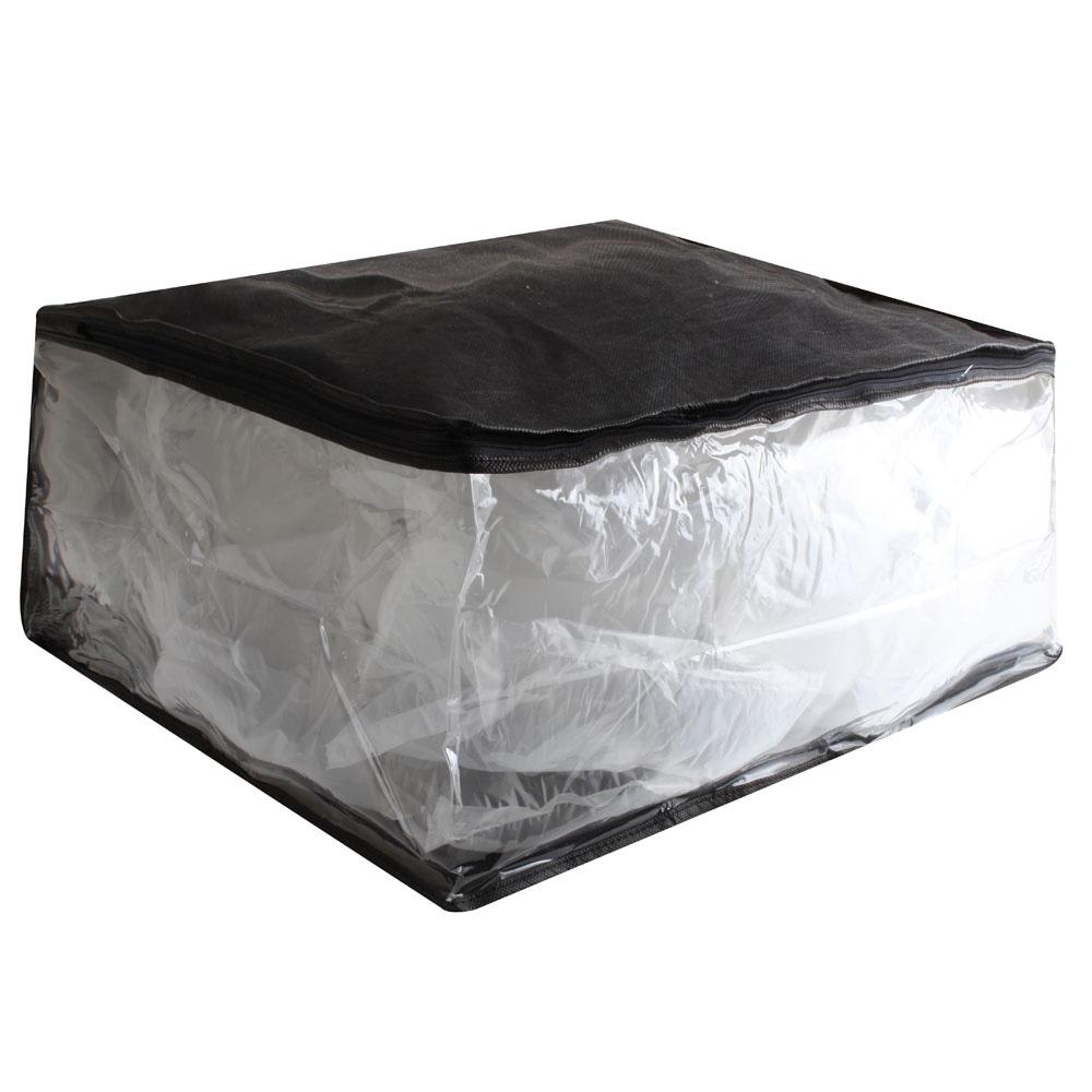Organizador Secalux para Toalhas 19x45x39cm Preto (461600)