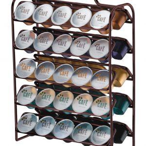 Organizador para Cápsulas de Café Bronze Nespresso