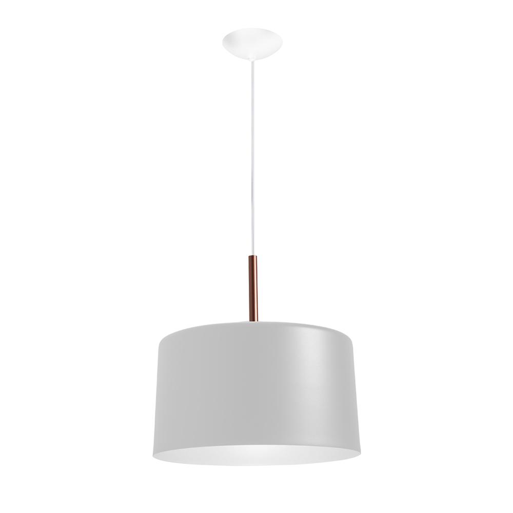 Pendente Bilboquê CFL E27 – Branco – 350x350x350mm