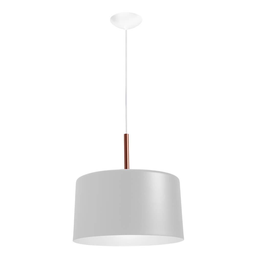 Pendente Bilboquê CFL E27 – Branco – 500x500x385mm