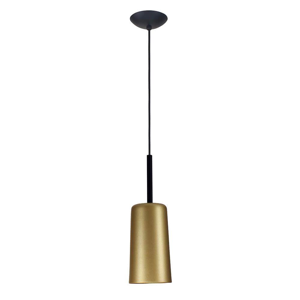 Pendente Bilboquê CFL E27 – Dourado – 136x136x380mm