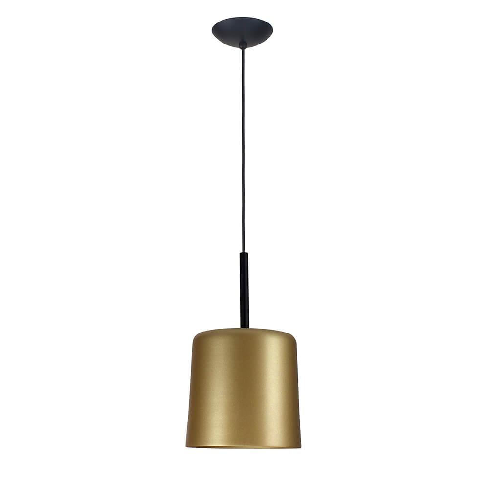 Pendente Bilboquê CFL E27 – Dourado – 200x200x350mm