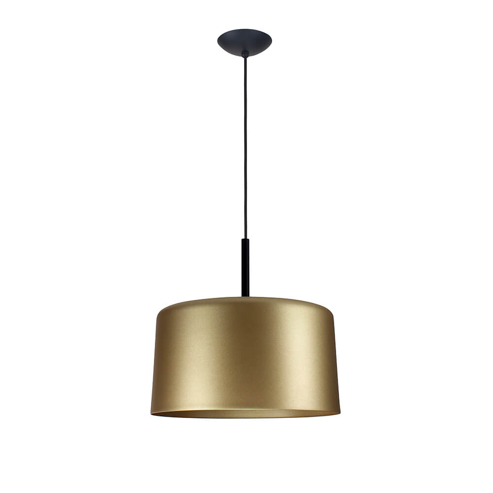 Pendente Bilboquê CFL E27 – Dourado – 350x350x350mm