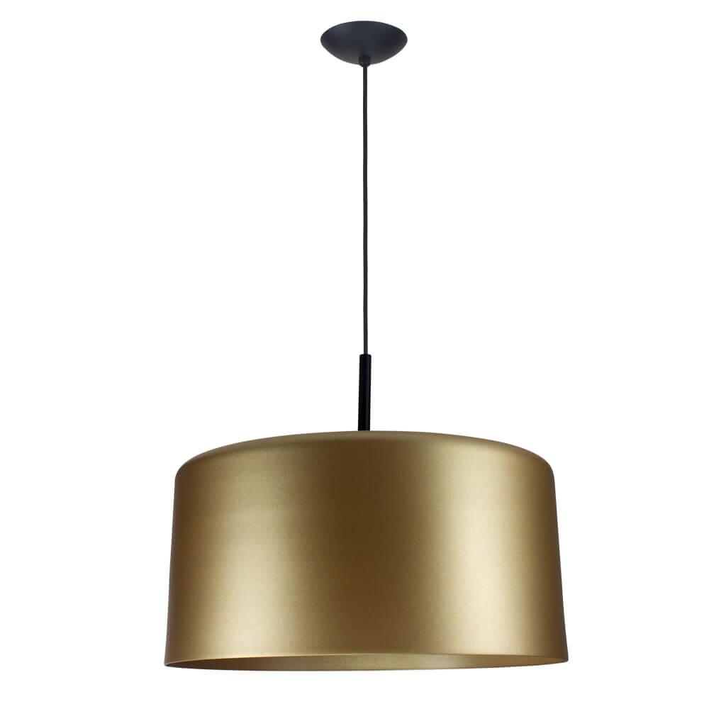 Pendente Bilboquê CFL E27 – Dourado – 500x500x385mm