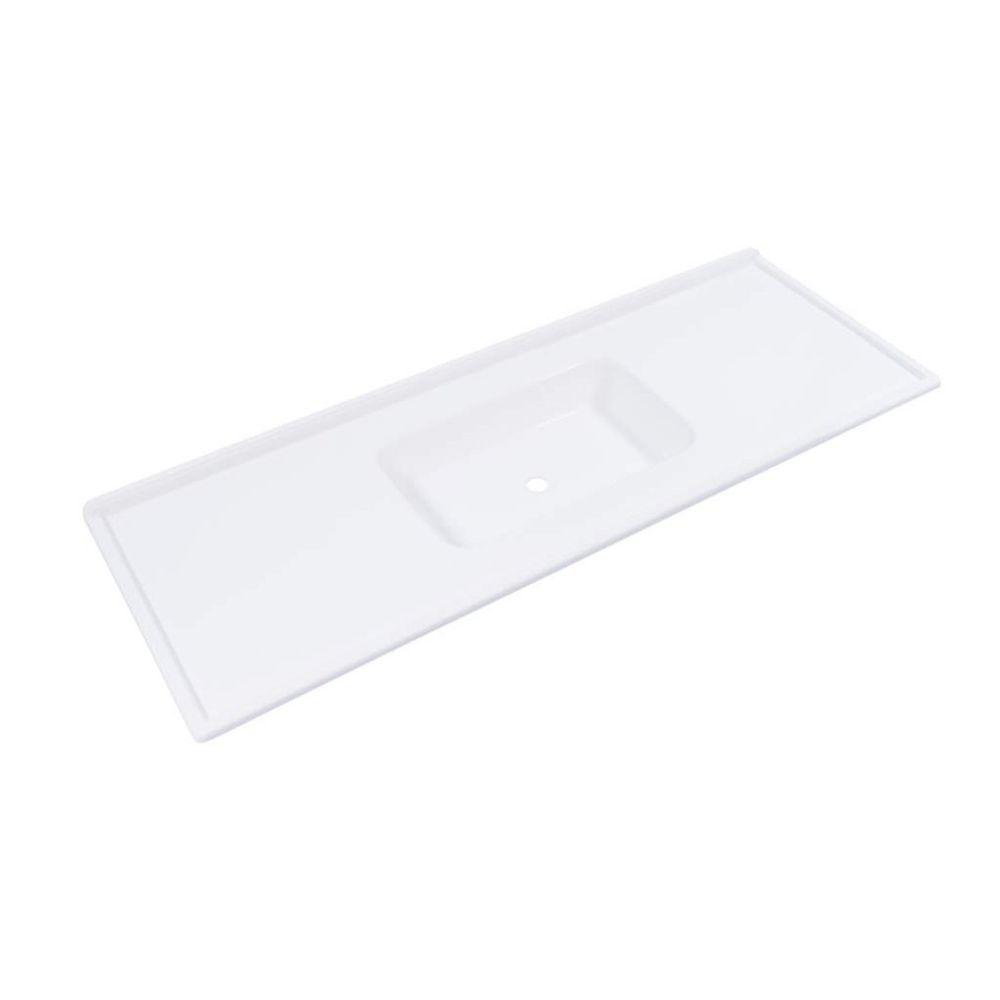 Pia Decoralita Premium 100×50 Branco Gelo