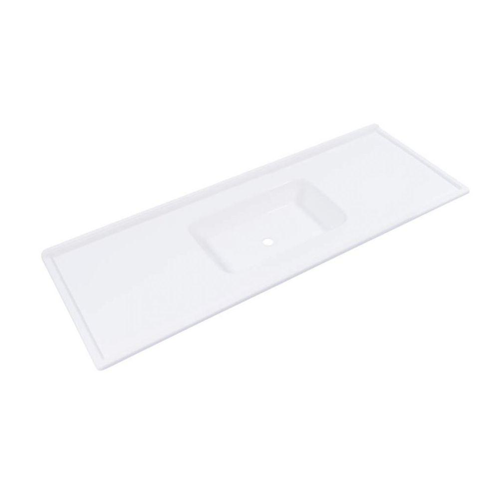Pia Decoralita Premium 120×54 Branco Gelo