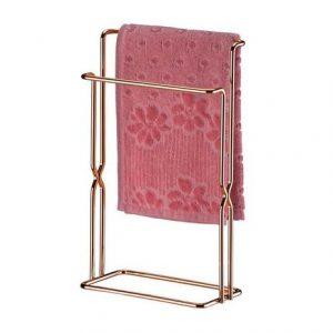 Porta Toalha Future Bancada Rose Gold