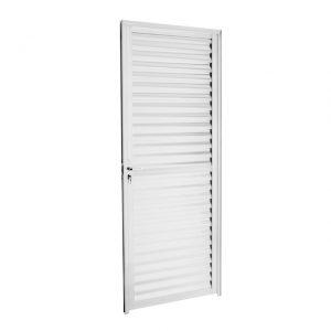 Porta com Lamina Acetinado Dir, 210×70 cm