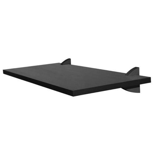 Prateleira Concept com Suporte Prata 1,5x25x80
