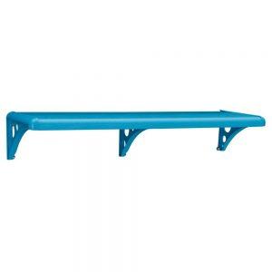 Prateleira Multiuso/Sup Astra 100x20cm Azul