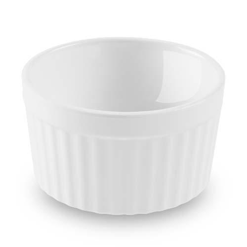 Ramekin Pote Canelado Ramificado Branco 10,4×5,4 200ml