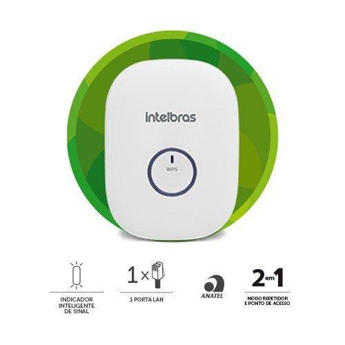 Repetidor de Sinal Wireless Intelbras IWE3000N