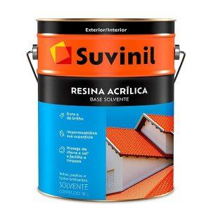 Resina Acrílica Brilhante Incolor Suvinil 18L