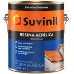 Resina Acrílica Suvinil Base d'Água 3,6L