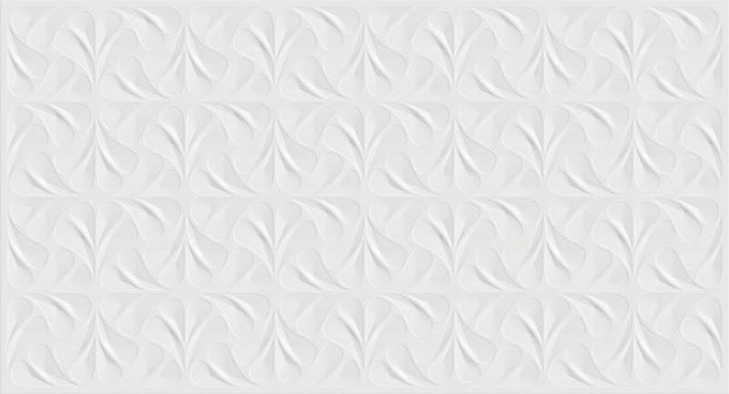Revestimento Bianco Gres 32×60 Fiori Bianco 2,3m/12Pçs/PEI3