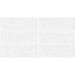 Revestimento Bianco Gres 32×60 Laterizi Bianco 2,3m/12Pçs/PEI3