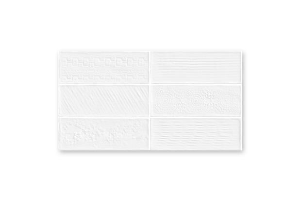 Revestimento Bianco Gres 32×60 Laterizi Lux Bianco 2,3m/12Pçs