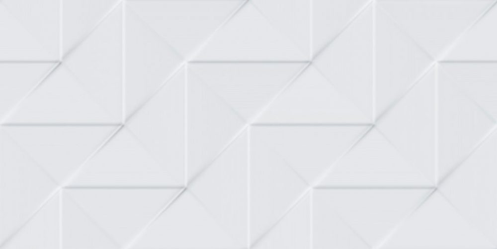 Revestimento Bianco Gres 45×90 Origami Bianco 2m/5Pçs