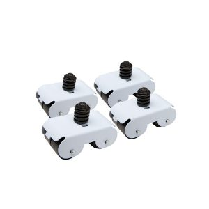 Rodízio Secalux Clean Geladeira/Freezer/Fogão Branco (0431050)