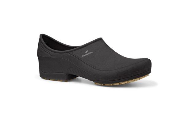 Sapato MooV Impermeável Preto Solado de Borracha
