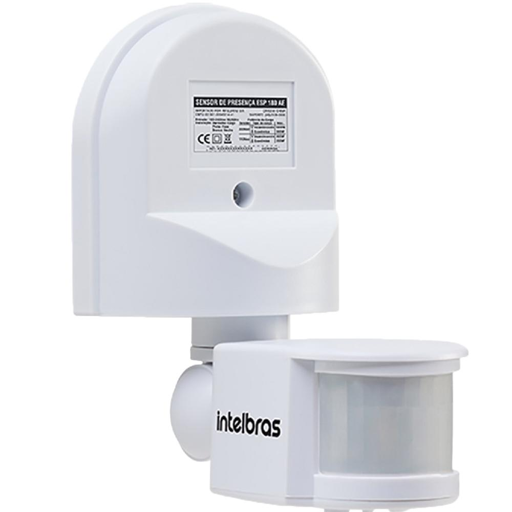 Sensor de Presença P/Iluminação Intelbras 180AE