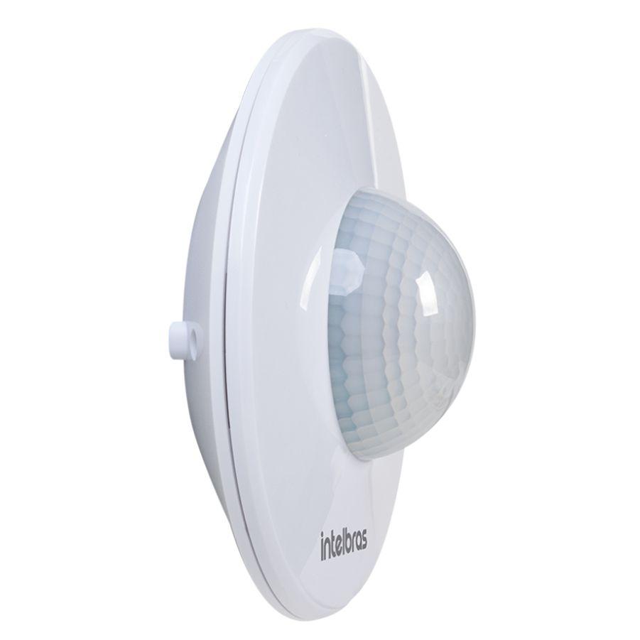 Sensor de Presença P/Iluminação Intelbras 360+