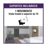 """Suporte Brasforma TV Inclinável Slim 32"""" a 55"""""""