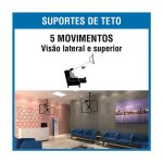 "Suporte Brasforma TV P/ Teto LCD 10"" a 55"""