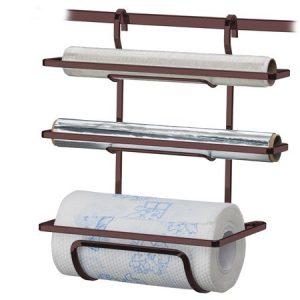 Suporte Future para Rolo Papel Toalha/Alum/PVC Bronze
