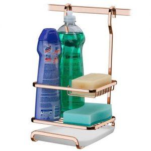 Suporte Future para Sabão/Detergente/Esponja Rose Gold