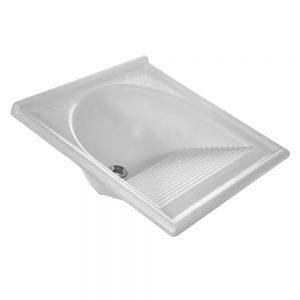 Tanque Thermo Fibra Decoralita 55×55 Branco