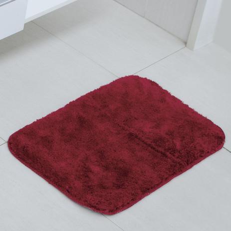 Tapete Astra Stilo Poliéster 40×60 Vermelho