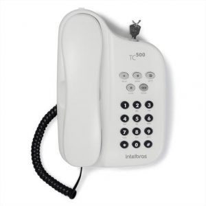 Telefone Intelbras TC500 Branco