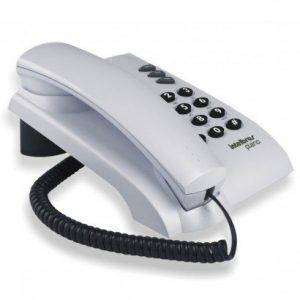 Telefone Pleno Cinza Ártico C/Chave